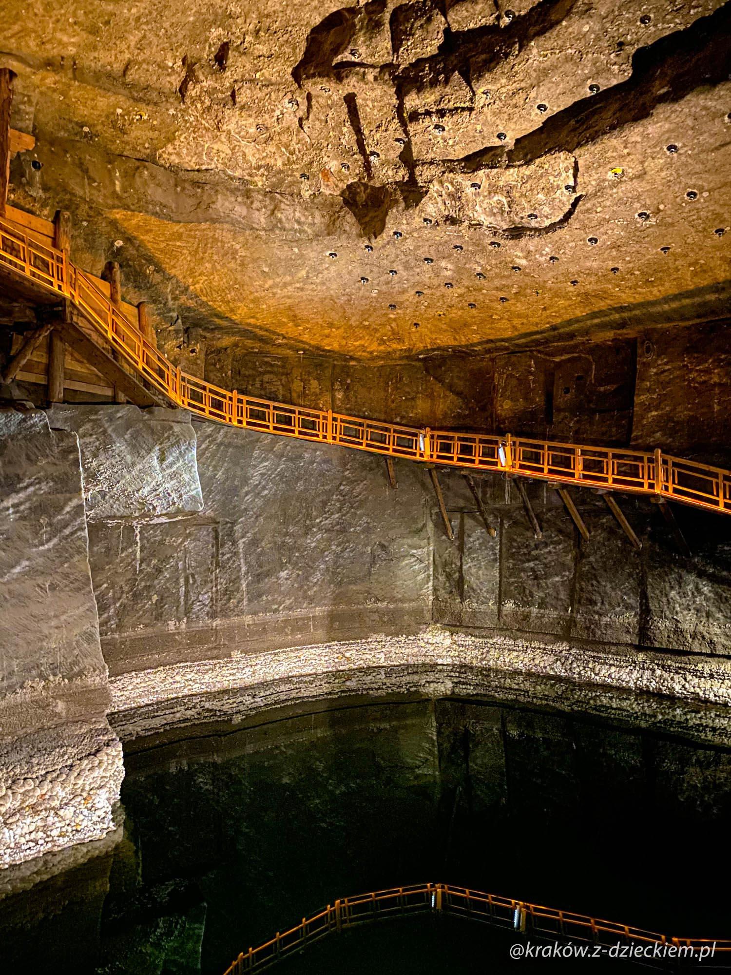 jezioro w kopalni