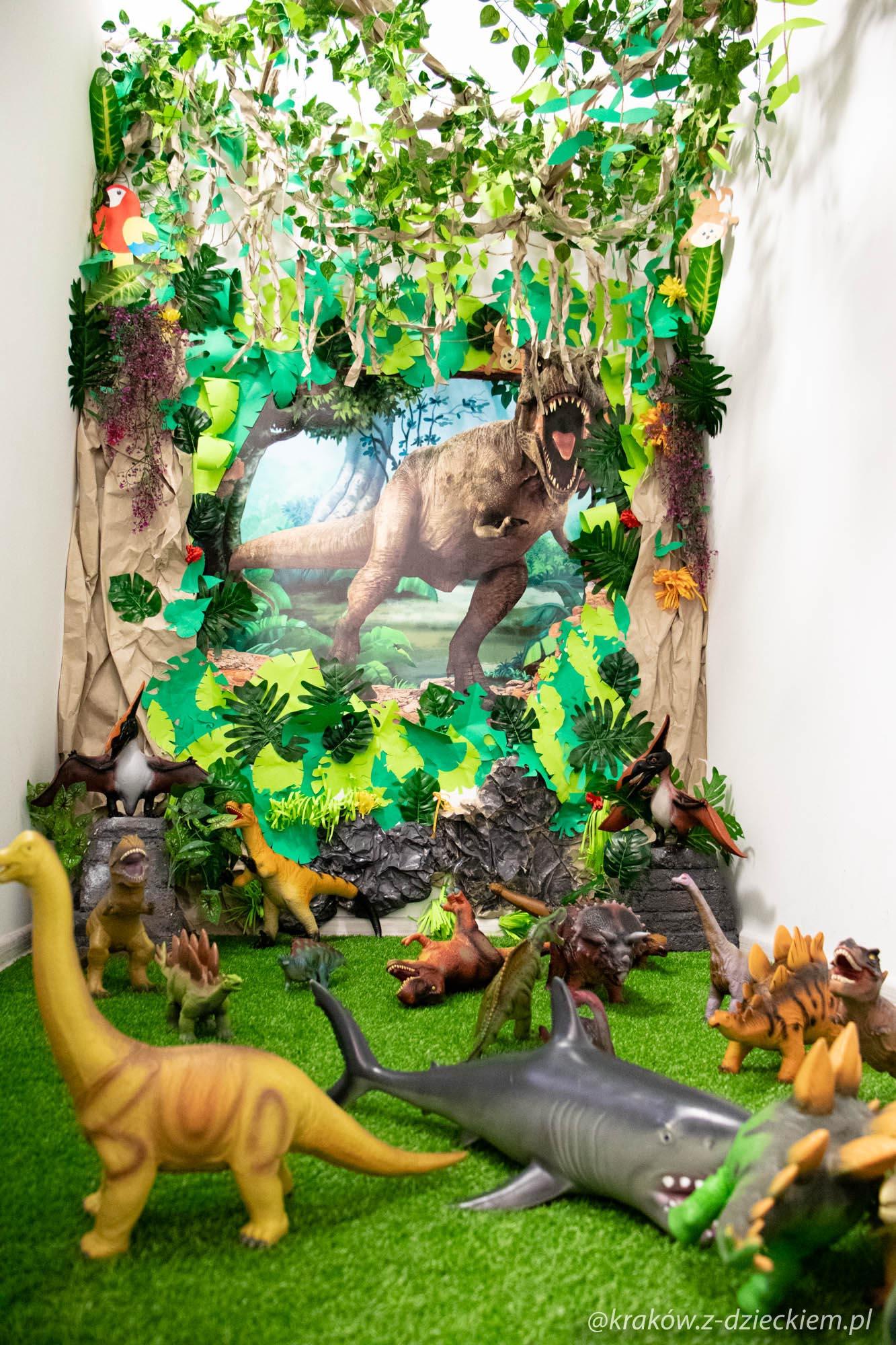 pokój dinozaurów, Bawikowo
