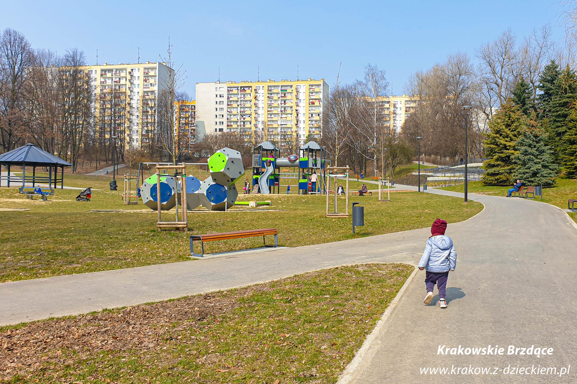 park Tysiąclecia plac zabaw