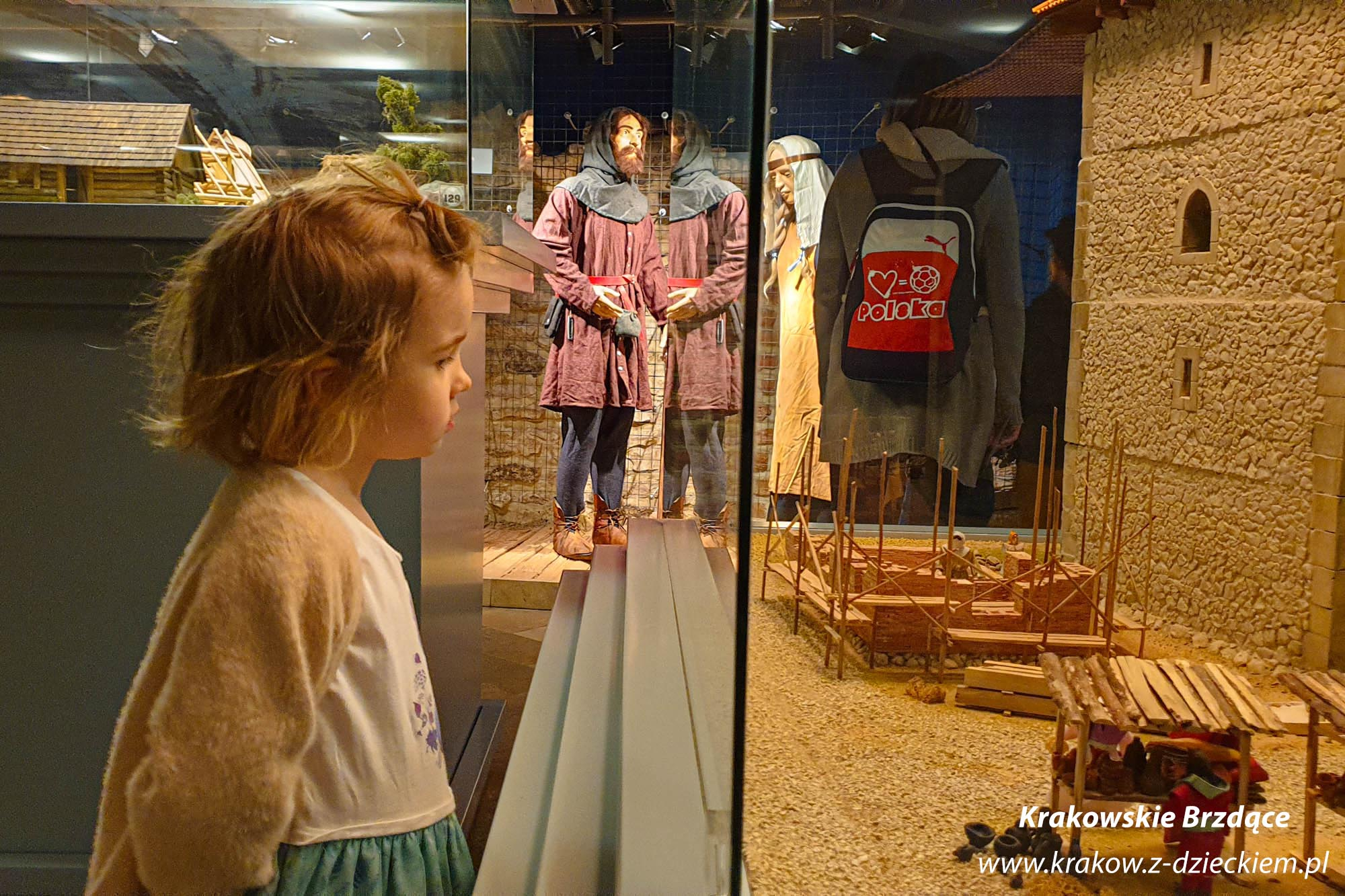 muzeum archeologiczne z dzieckiem