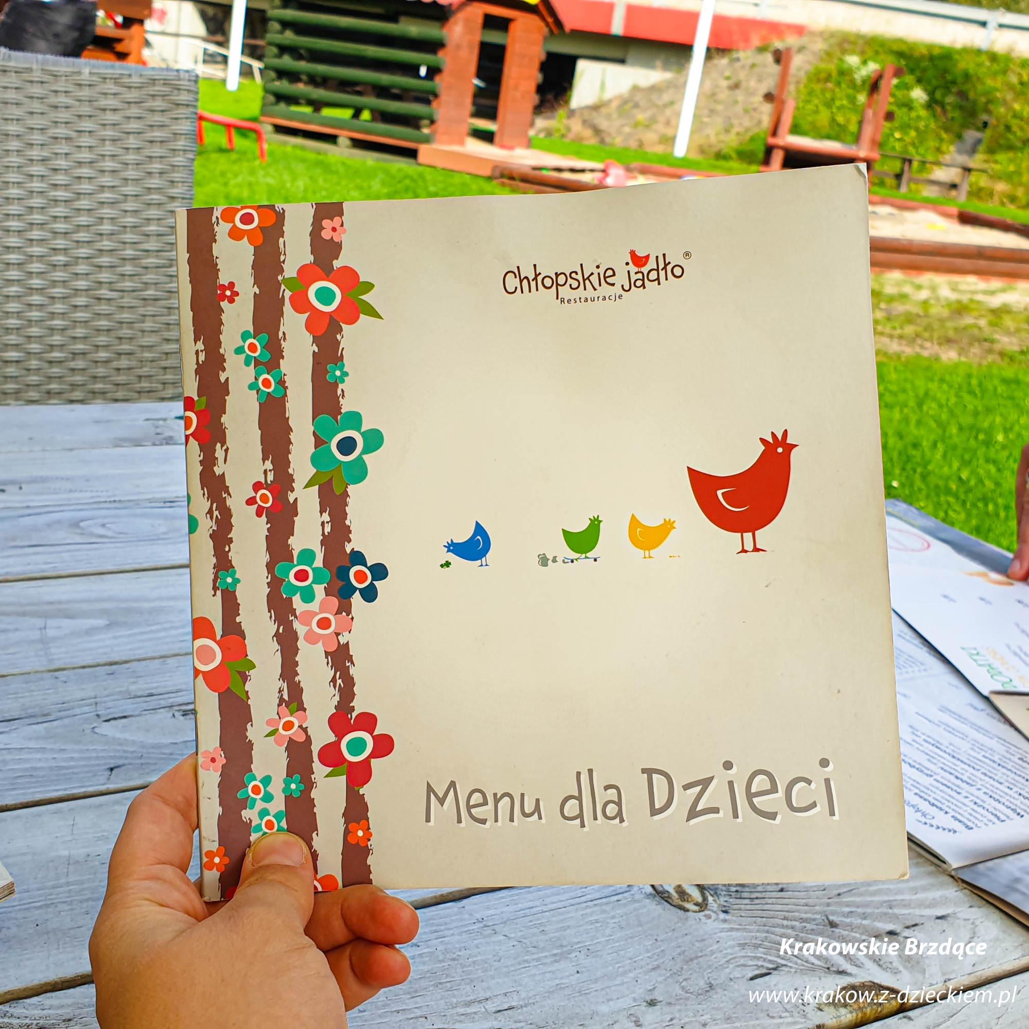 Chłopskie Jadło Głogoczów, menu