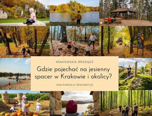 jesień w Krakowie spacer