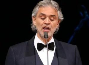Andrea Bocelli konsert
