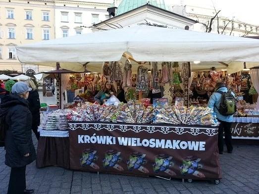 Julemarked i Krakow i 2016