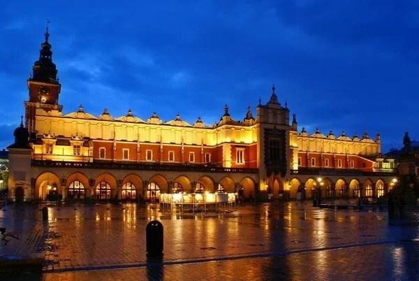 Veldig romantiske steder i Krakow