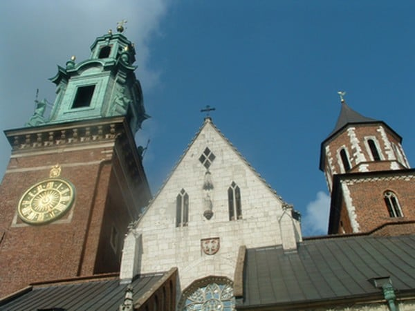 Wawel Cathedral entrance