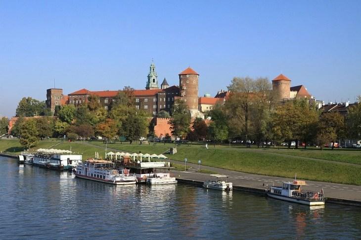 Wisla er navnet på elva i Krakow