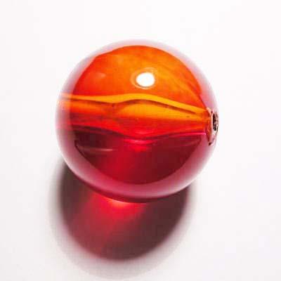 acryl rond rood 24 mm