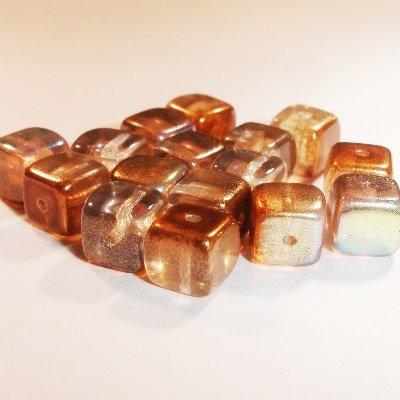 bohemian kubus 7 mm bruin
