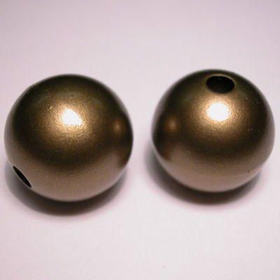 rond mat goud 21 mm