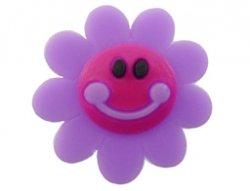 cabochon bloem lachend 24mm