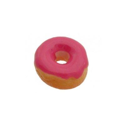 cabochon donut fuchsia 13 mm