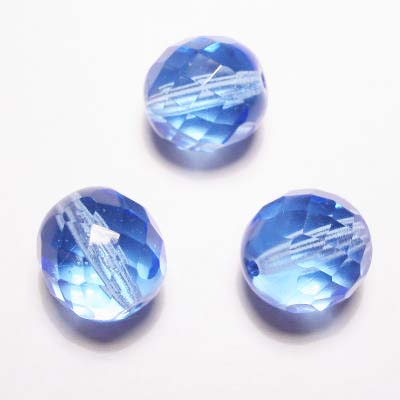 facet blauw 12 mm
