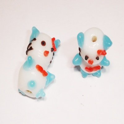 kitten blauw 13x26 mm