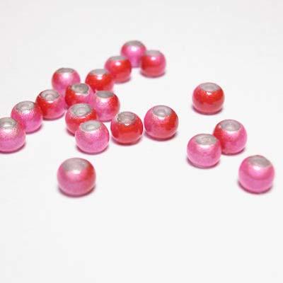 miracle bead rozerood 4 mm