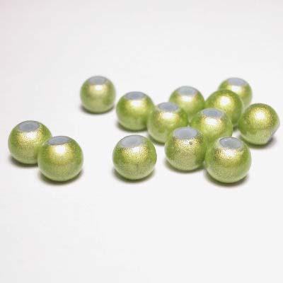 miracle bead lichtgroen 6 mm