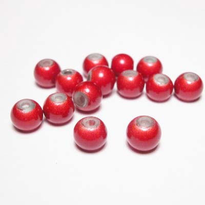miracle bead rood 6 mm