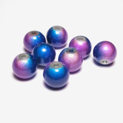 miracle bead blauwpaars 8 mm