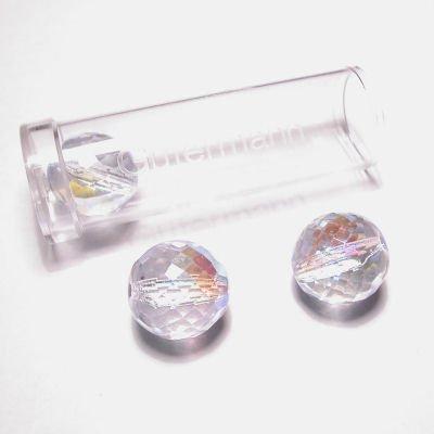 facetted ball 14 mm kleur 6420