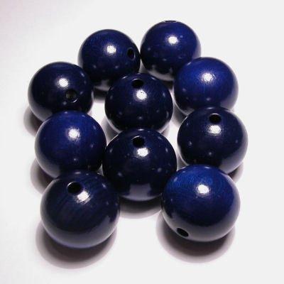 rond kobaltblauw 20 mm