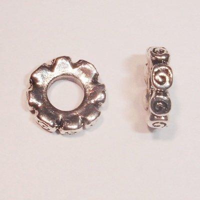 metalen kraal 3 x 10 mm