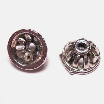 metalen kraal kapje 6x10 mm