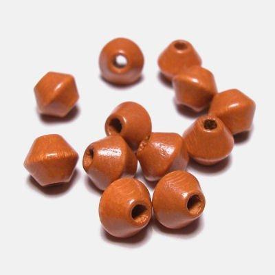 kraal konisch mokka 6 mm