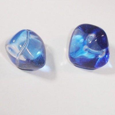 brok blauw 14x19 mm