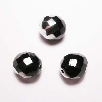 facet metalic zwart 10 mm