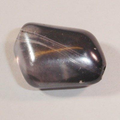 brok parelmoer grijs 18x13 mm