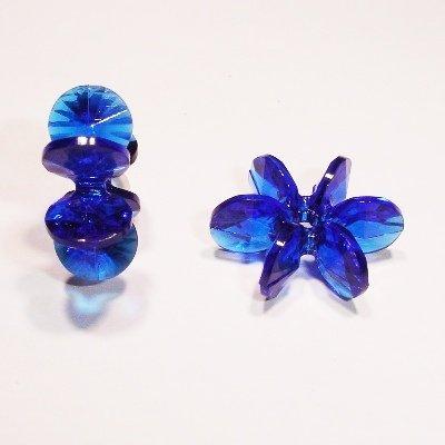 sunburst d.blauw 18 mm