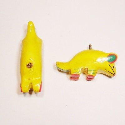 bedel muis geel ca. 30x12 mm