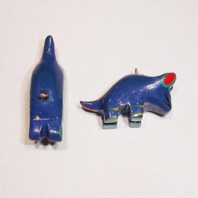 bedel muis blauw ca. 30x12 mm