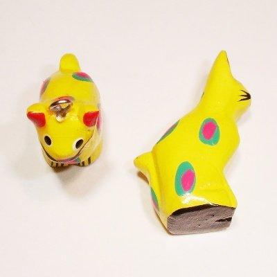 bedel kat geel ca. 24x20 mm