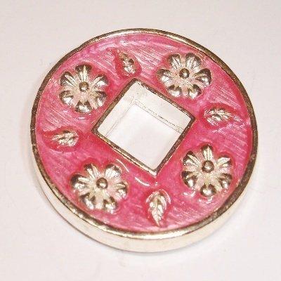 ring bloem rose 30 mm