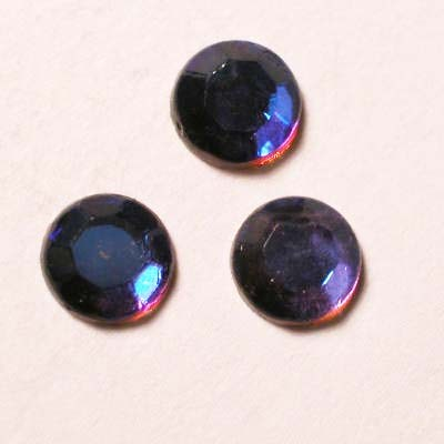 strass plaksteen kristal vulcano AB 5 mm