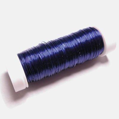 haakdraad blauwpaars 0,3 mm