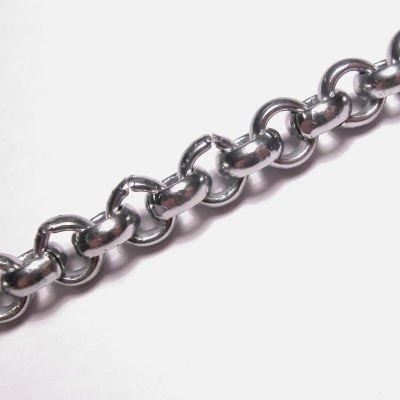 jasseron oud zilver 8,5 mm, binnenmaat 5 mm