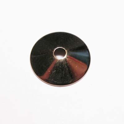 plat kapje brons 10 mm