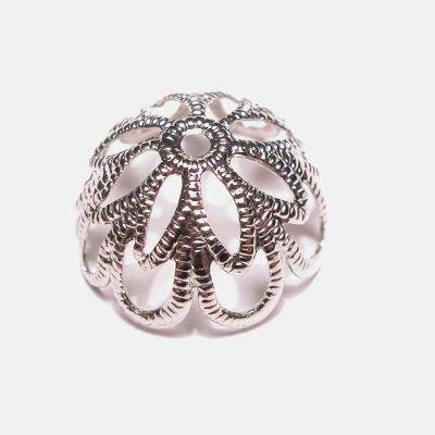 kapje zilver 14 mm