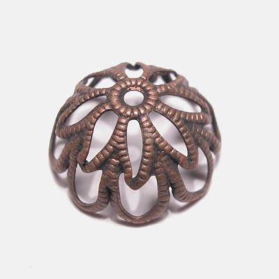 kapje brons 14 mm