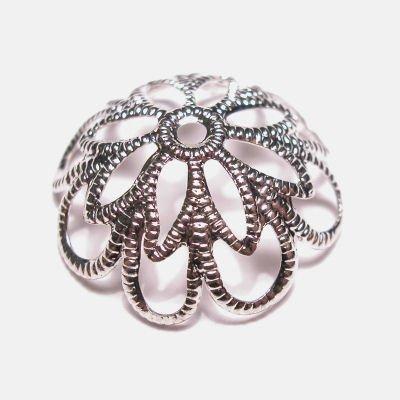 kapje zilver 16 mm