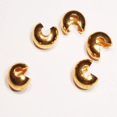 knijpkraalverbergers goud van 2,5-3 mm