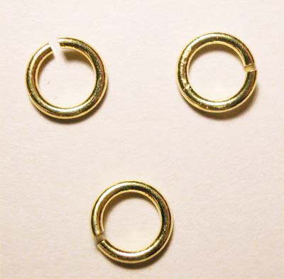 ring rond goud 6mm, 1 mm dik