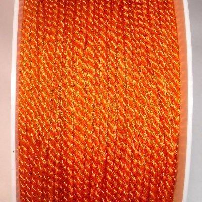 Deko-koord, 2 mm, oranje