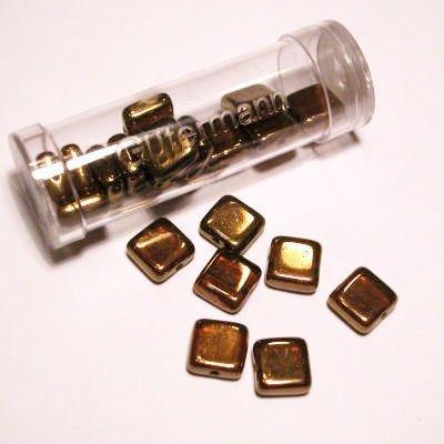 kwadraatparels 8 mm kleur 9980