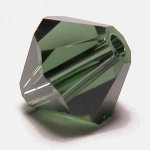 swarovski facet 6mm turmaline