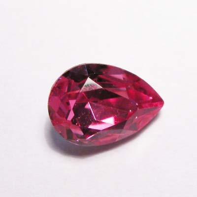 similisteen druppel rose 10x7 mm