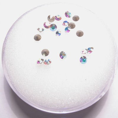 swarovski similisteen rond crystalAB 2 mm