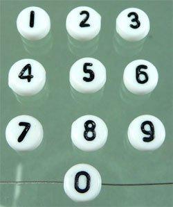 """cijfer """"1"""""""